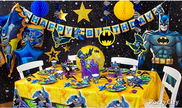 Urodziny Tematyczne Batmanjadalne Dekoracje Izulek Cię Urządzi