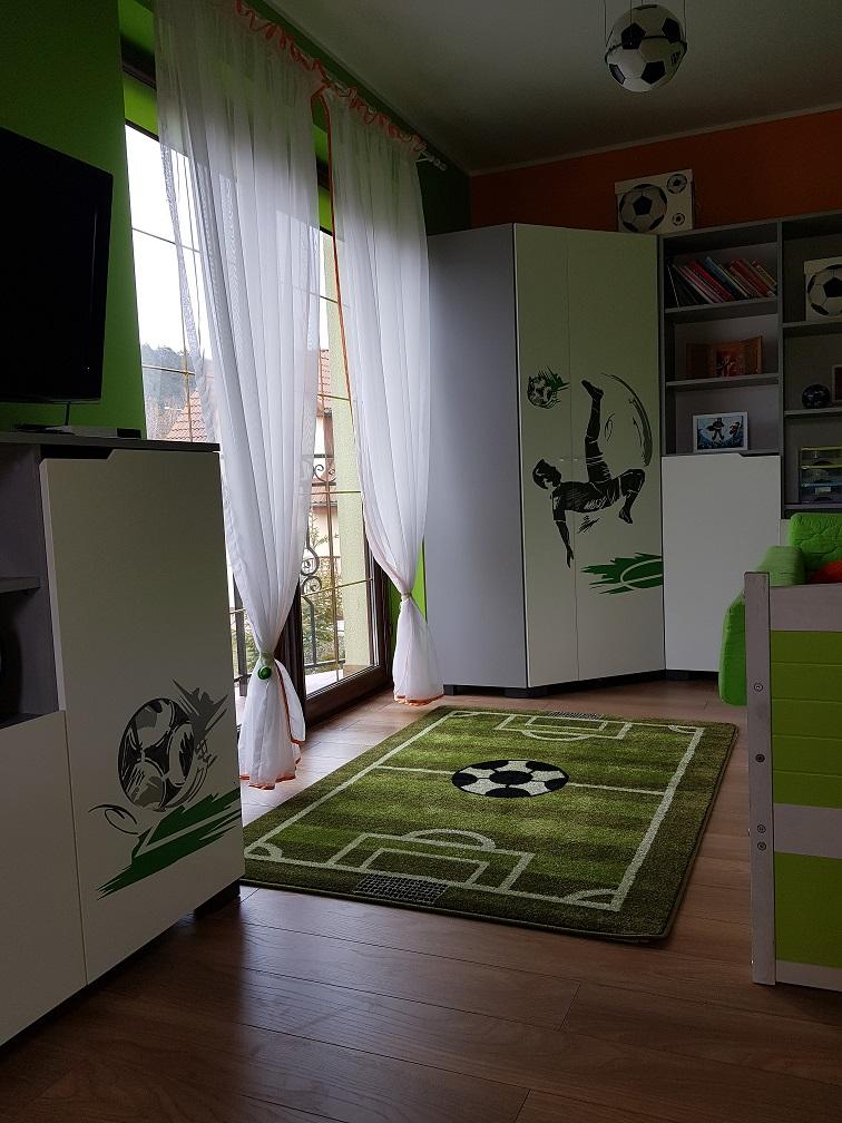 Pokój Piłkarski Dla Chłopca Meblik Kolekcja Piłkarz